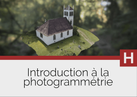 Introduction à la restitution numérique 3D par photogrammétrie
