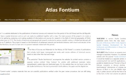 Atlas Fontium