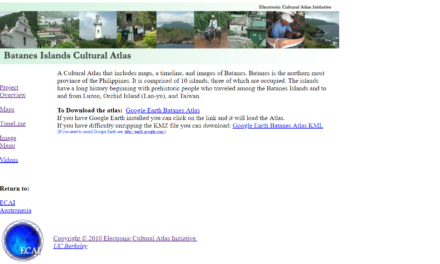 Batanes Islands Cultural Atlas