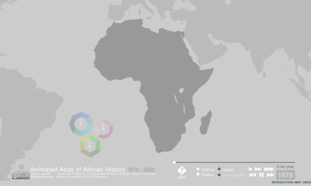 Animated Atlas of African History 1879-2002