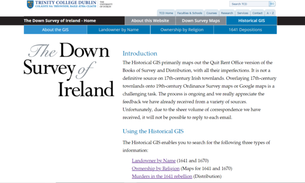 The Down Survey of Ireland