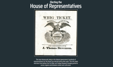Electing the House of Representatives : 1840-2016