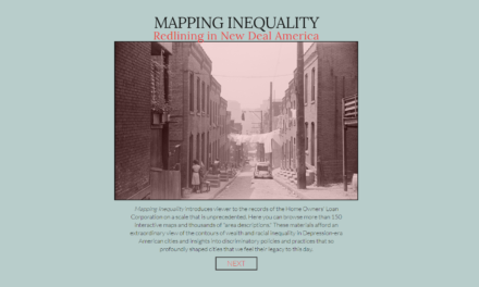 Mapping Inequality Redlining in New Deal America