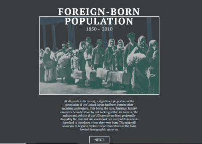 Foreign-Born Population, A Nation of Overlapping Diasporas : 1850 – 2010