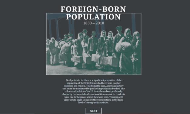 Foreign-Born Population, A Nation of Overlapping Diasporas : 1850 – 2010