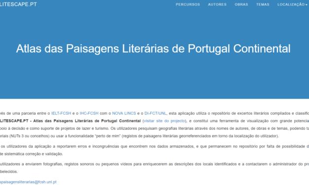 Atlas das Paisagens Literárias de Portugal Continental