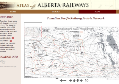 Atlas of Alberta Railways