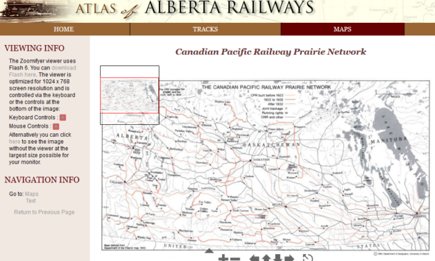 Atlas of Alberta Railways