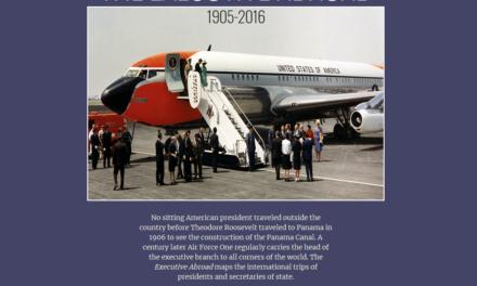 The executive abroad : 1905-2016