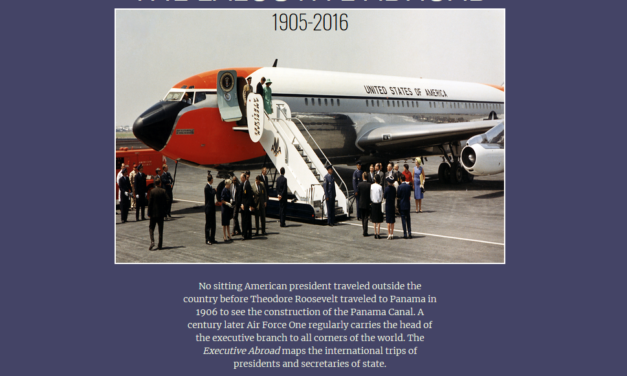 The executive abroad : 1905-2016
