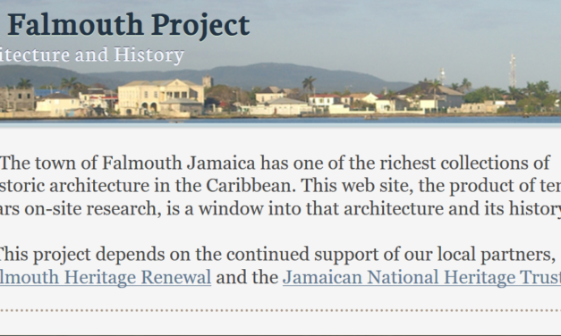 The Falmouth Project. Architecture and History