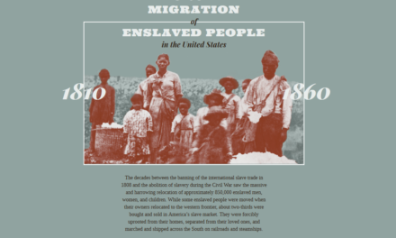 The forced migration of enslaved people in the united states : 1810-1860