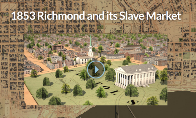 1853 Richmond and its Slave Market