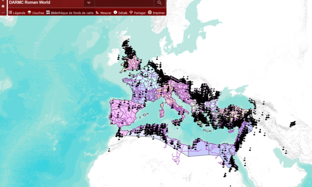 The digital Atlas of Roman and Medieval Civilzsations