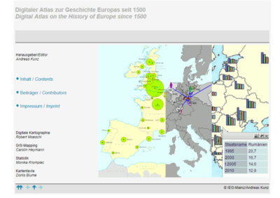 Digital Atlas on the History of Europe since 1500
