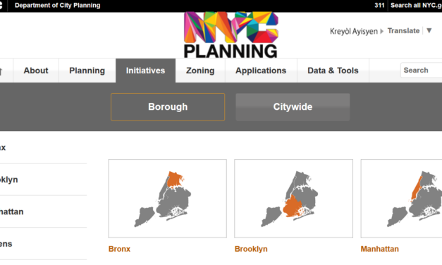 The Departement of city planing of New York City