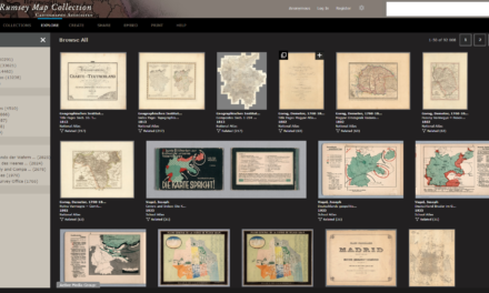 DAVID RUMSEY HISTORICAL MAP COLLECTION
