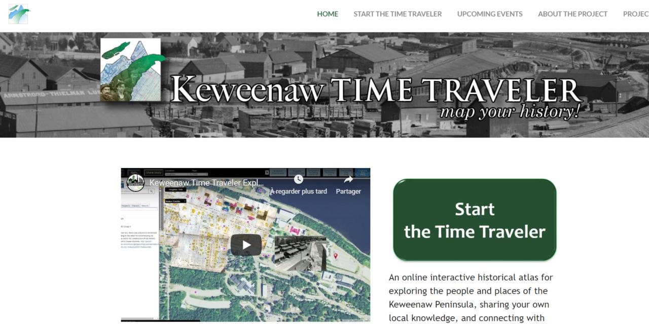 Keweenaw Time Traveler