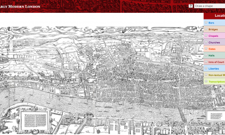 Map of Early/Modern London