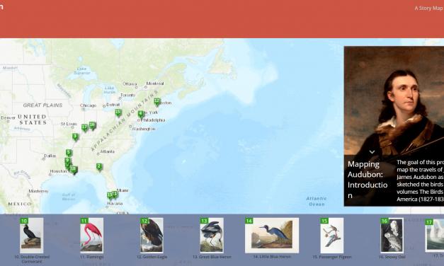 Mapping Audubon