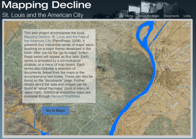 Mapping Decline : St. Louis and the American City