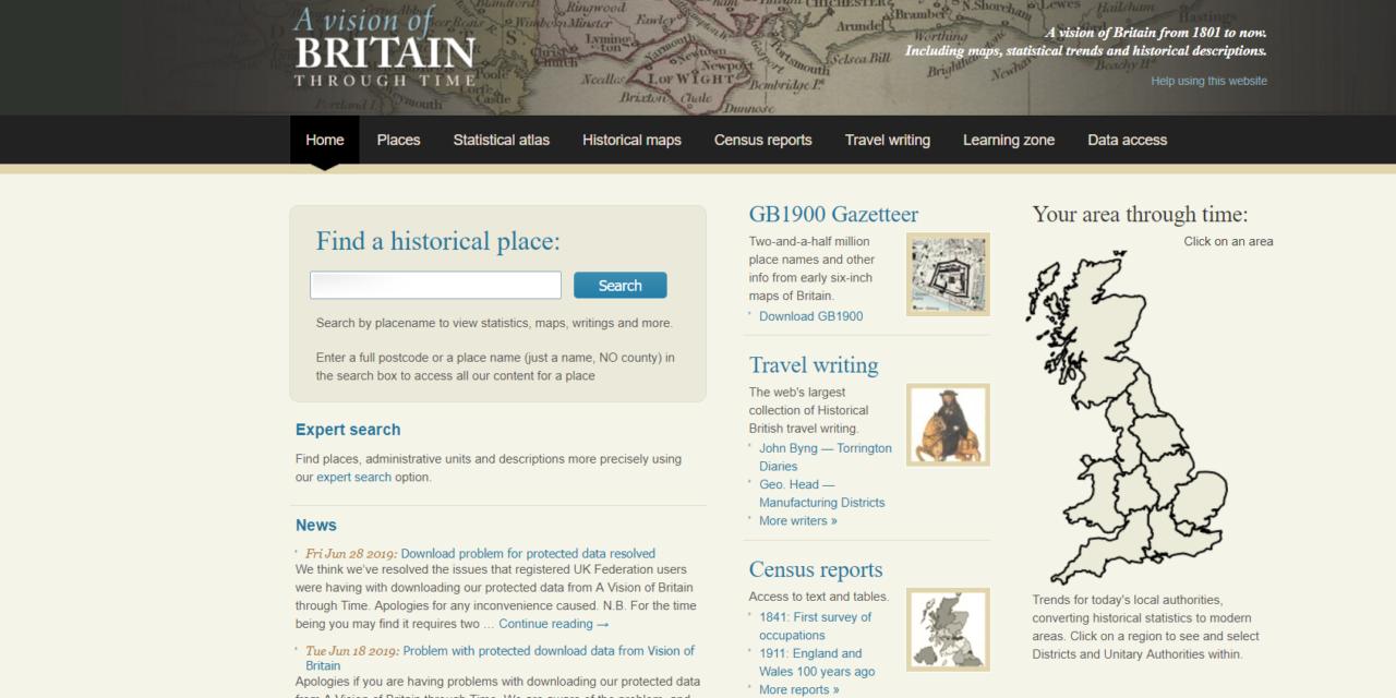 A Vision of Britian Through Time