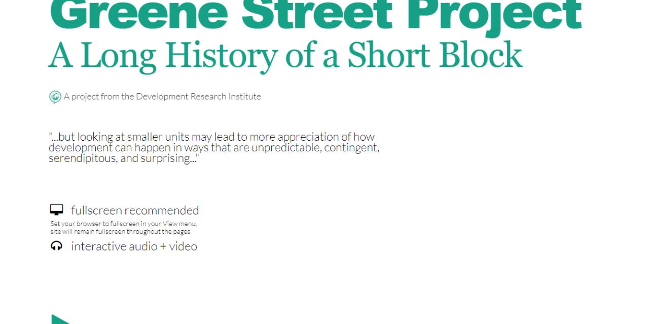 Greene Street Project
